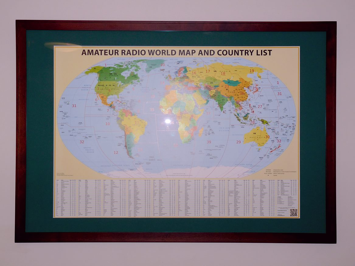 Amateur radio prefix wall map w6hdg gumiabroncs